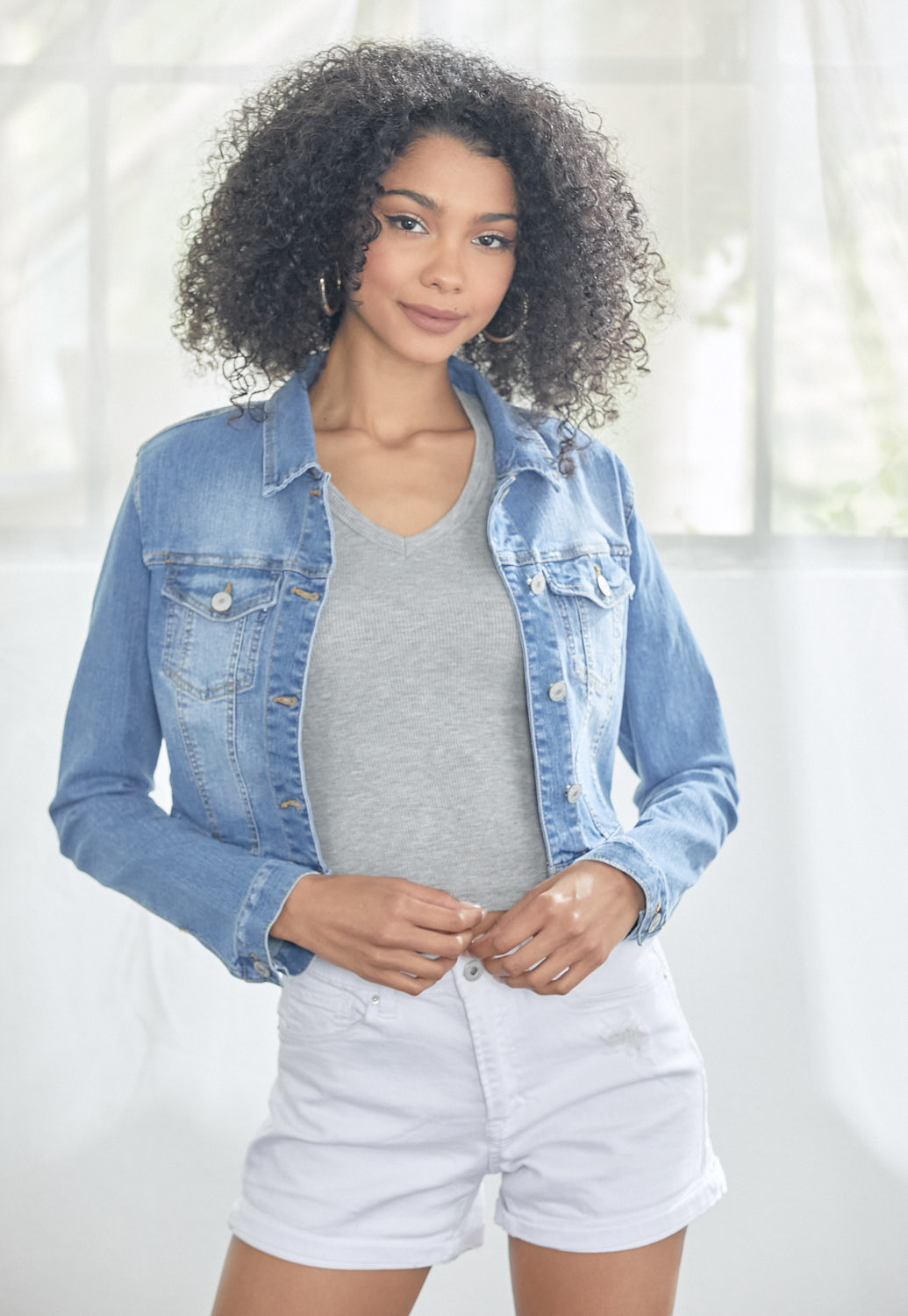 Denim Short Jacket