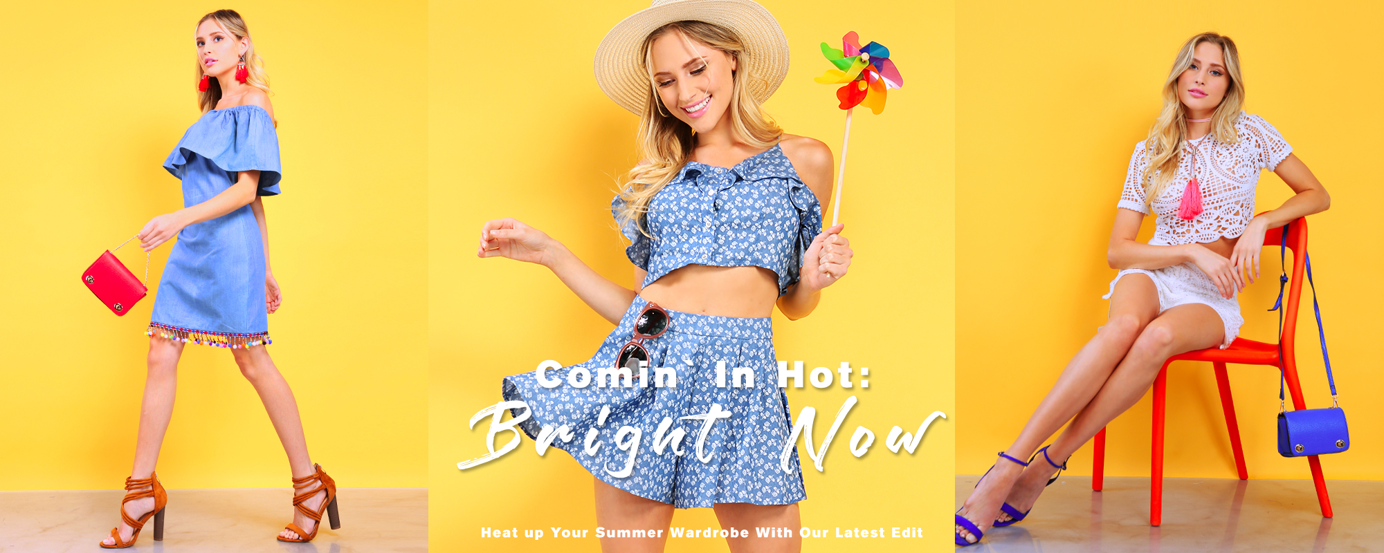 Comin` In Hot: Bright Now